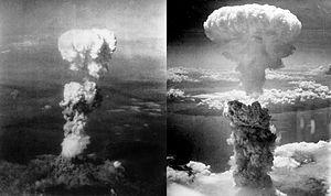 Atomic bombs_Hiroshima L-Nagasaki R